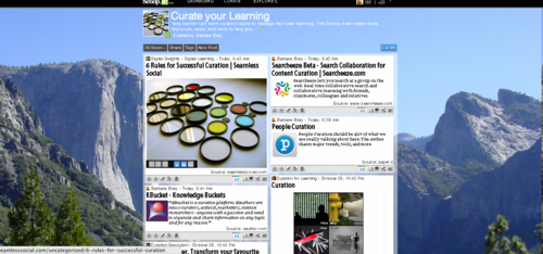 Curate Your Learning Scoop-it