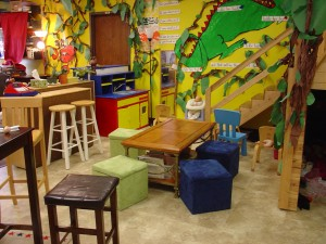 Wales Elementary Kindergarten tables
