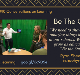 Episode #10: Be the One for Kids with Ryan Sheehy
