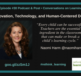 Episode #30: Innovation, Technology, and Human-Centered Design with Naomi Harm