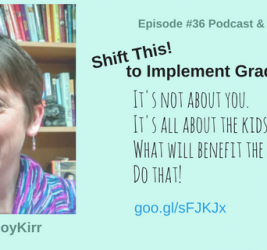 Episode #36: Shift This! to Implement Gradual Change with Joy Kirr
