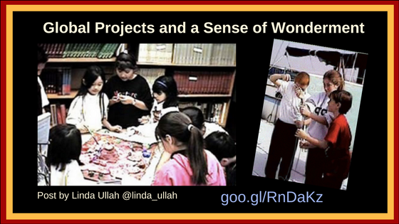 Global Projects and Wonderment by Linda Ullah