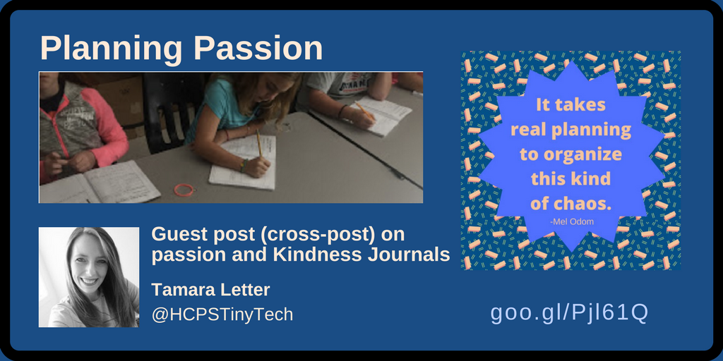 Planning Passion - Tamara Letter