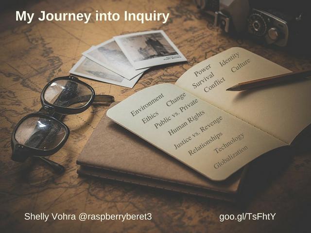 Journey into Inquiry - Vohra (1)
