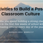 6 Activities to Build a Positive Classroom Culture