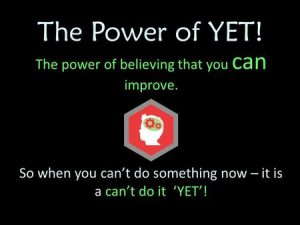 Power of Yet