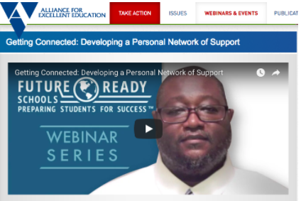 Dr Will Webinar Alliance for Ed