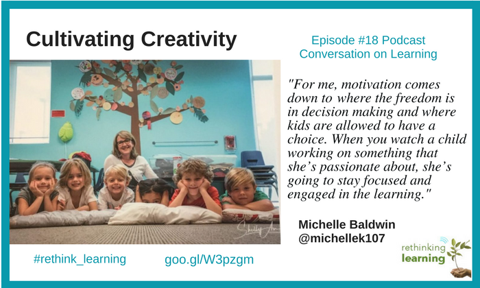 Cultivating Creativity with Michelle Baldwin