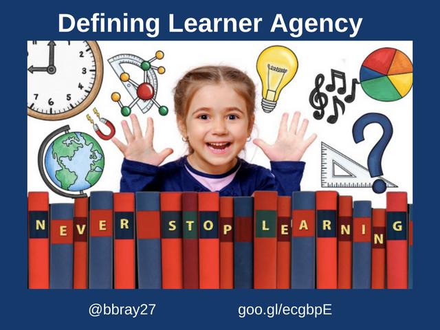 Defining Learner Agency