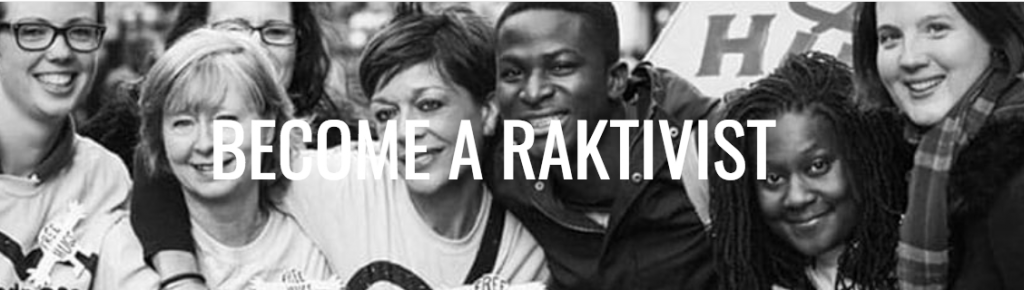 Become a RAKtivist