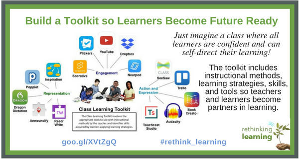 Build A Toolkit So Learners Become Future Ready Rethinking Learning