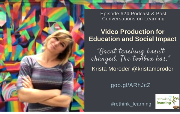 Episode #24 Podcast & Post with Krista Moroder