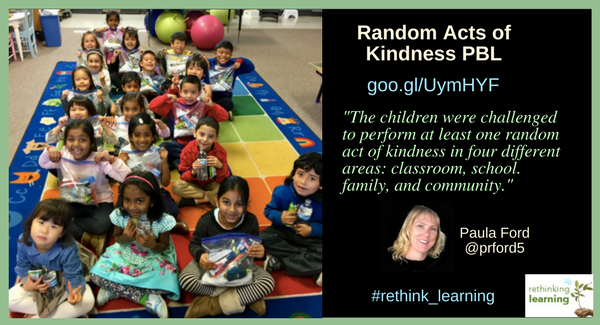 Random Acts of Kindness - Paula Ford
