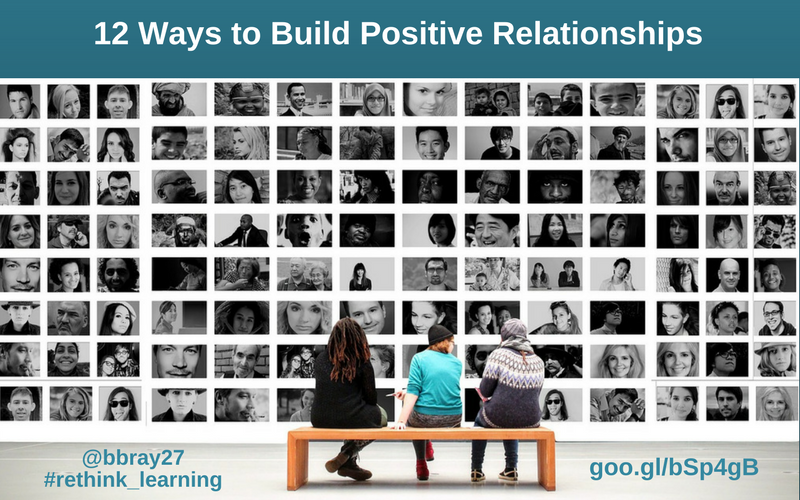 12 Ways to Build Positive Relationships