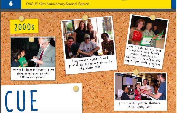 CUE 40th Anniversary