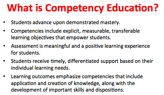 Competency-based | Rethinking Learning