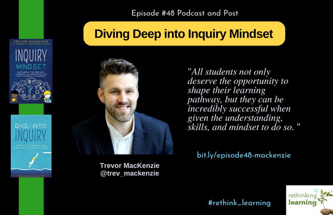 Episode #48 Diving Deep into Inquiry - MacKenzie