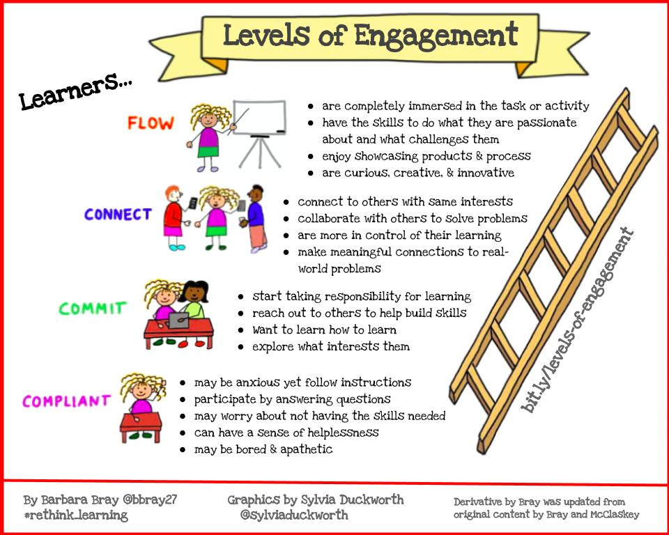 Levels of Engagement (Bray)