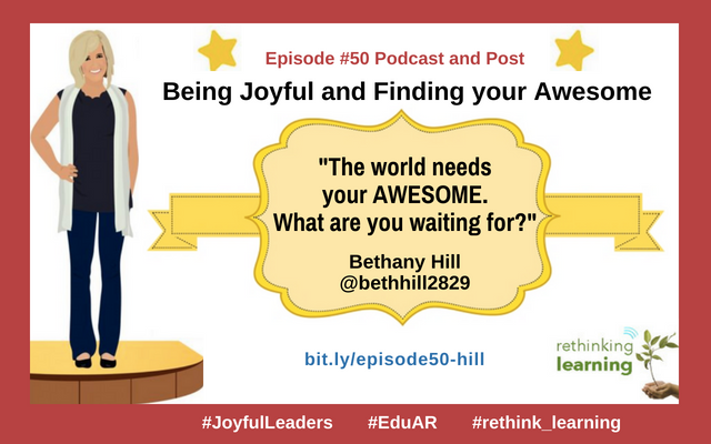 Episode #50-Being Joyful and Awesome