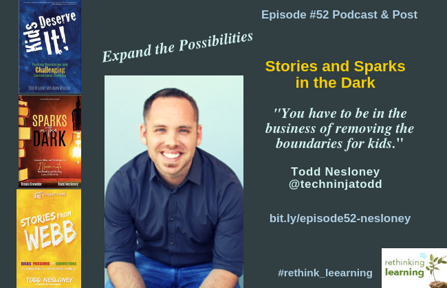 Episode #52 Podcast & Post with Todd Nesloney