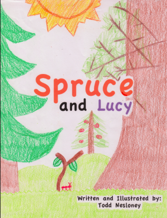 Spruce and Lucy by Todd Nesloney