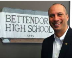 Jimmy Casas, Principal Bettendorf HS