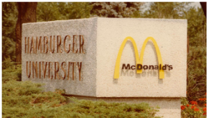 Hamburger University for McDonald's