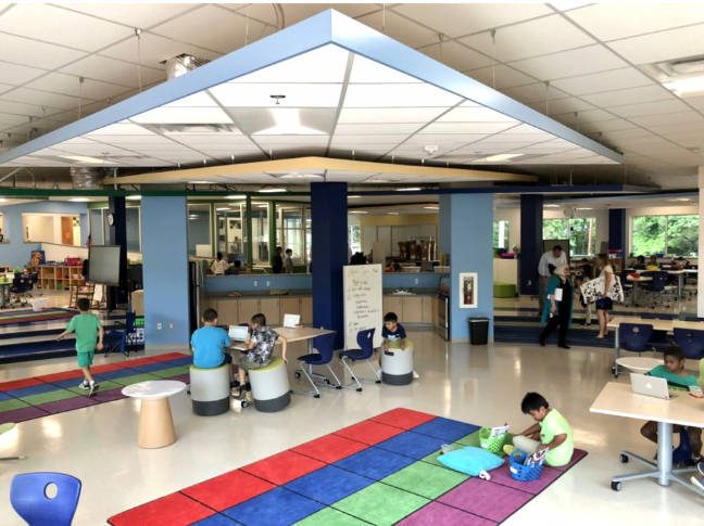 Learning Commons at Albemarle County Public Schools