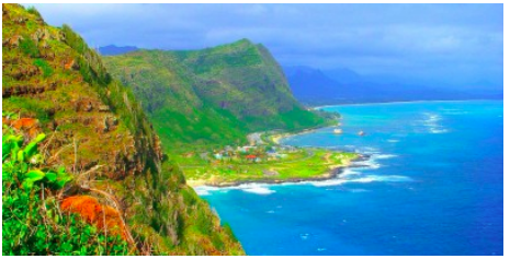 Windward side of Oahu
