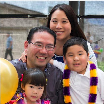 Winston Sakurai family