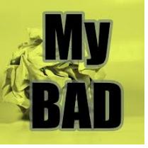 My Bad podcast