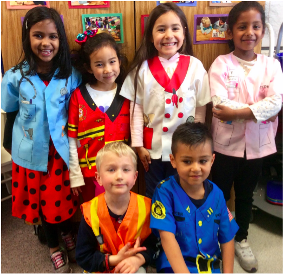 Kindergartners Dressing Up2