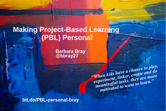 Making Project-Based Learning (PBL) Personal