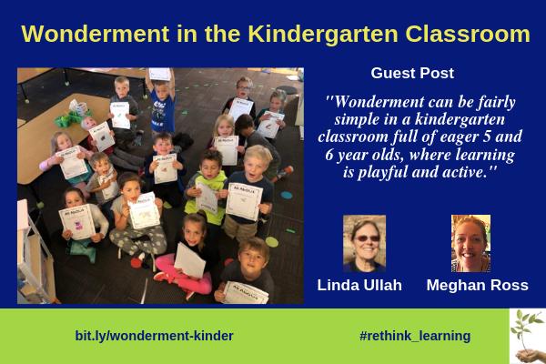 Wonderment in the Kindergarten Classroom