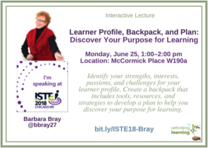 Profile-Backpack-Plan_ ISTE18 session (Bray)
