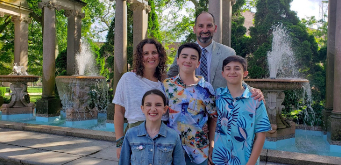 Mike Salvatore's Family