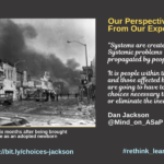 Our Perspectives Come From Our Experiences: Guest Post by Dan Jackson