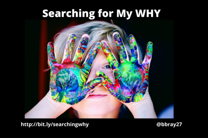 Searching for My WHY post