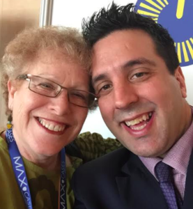 Selfie with George Couros and Barbara Bray