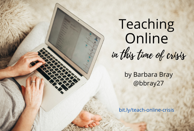 Teaching Online- in time of crisis