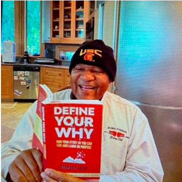 George Foreman endorsing Define Your Why