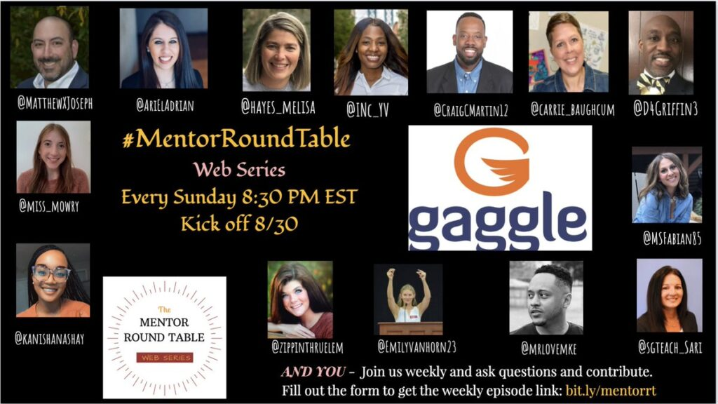 Join the #MentorRoundTable Web Series every Sunday at 8:30est. http://bit.ly/mentorrt