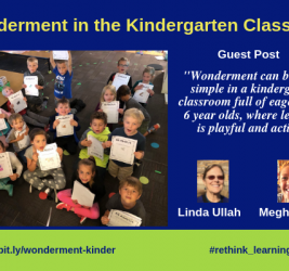 Wonderment in the Classroom: Guest Post by Linda Ullah and Meghan Ross