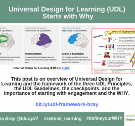 Universal Design for Learning (UDL) Starts with WHY
