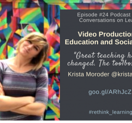 Episode #24: Video Production for Education and Social Impact with Krista Moroder