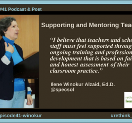 Episode #41: Supporting and Mentoring Teachers with Ilene Winokur Alzaid
